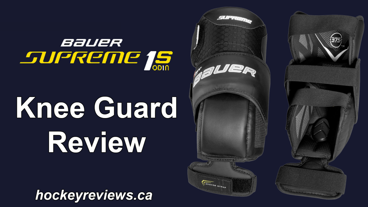 Bauer Supreme 1S OD1N Knee Guard Review – Hockey Reviews