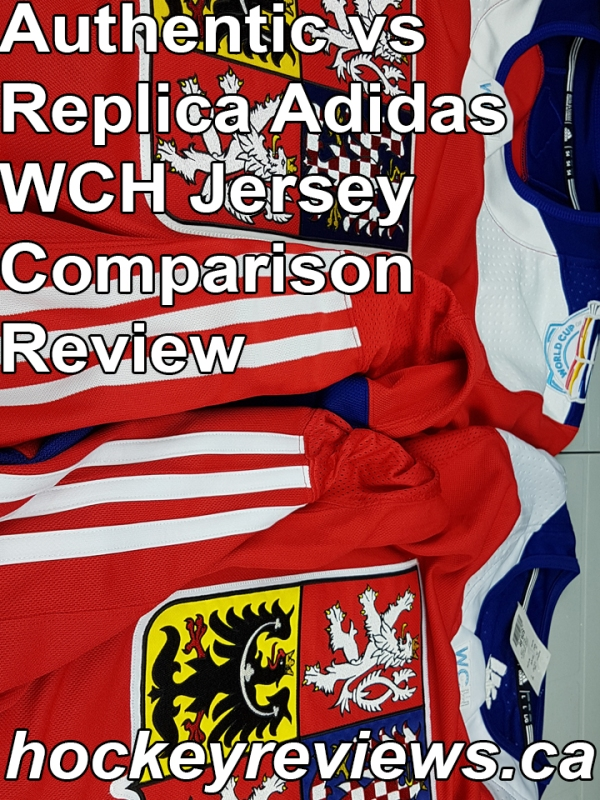 f8c35bd34ed Adidas World Cup of Hockey WCH Authentic VS Replica Comparison Review
