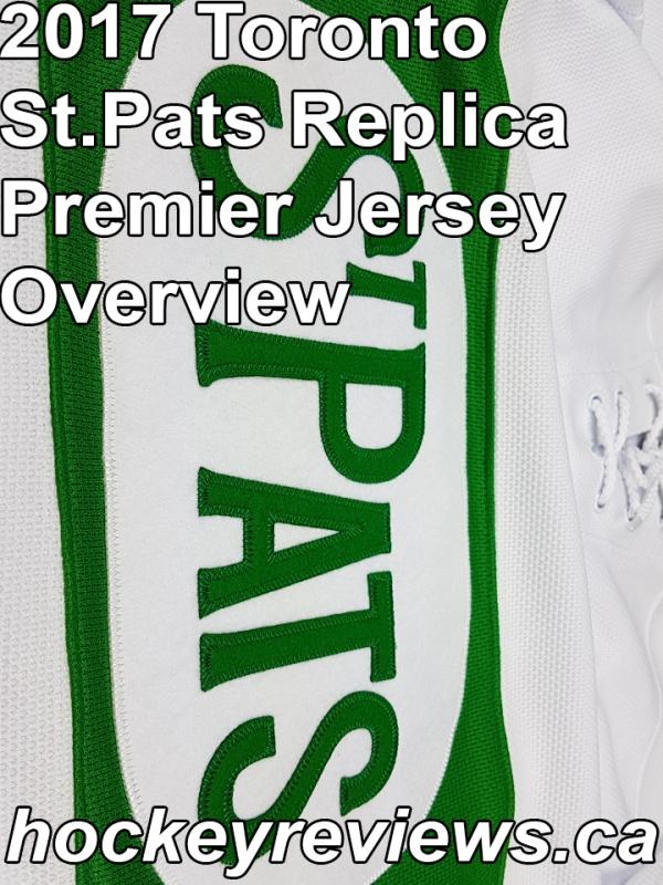 low priced 56954 85906 2017 Toronto St.Pats Reebok Premier Replica Jersey Review ...